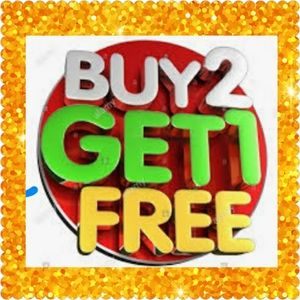 ***JEWELRY ONLY***SALE BUY 2 GET 1 FREE***